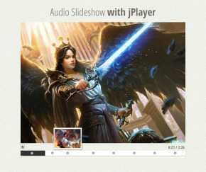 jQuery带图片切换效果的音乐播放器代码