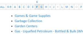jquery listnav插件--按字母顺序过滤列表
