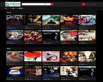 苹果cmsV10简洁响应式站群影视站_视频_图片网站源码模板