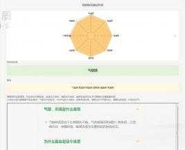 【源码已测试】PHP健康评测问答响应式源码