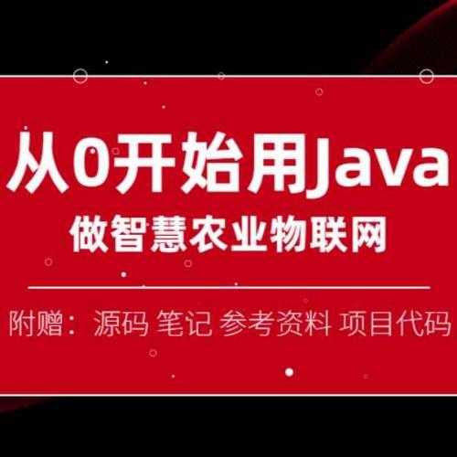 Java培训教程 做智慧物联网 从0开始 8.3G