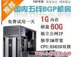 河南五线云VPS,仅89元/月!双核+1024M内存+60G超大硬盘+独享3M带宽