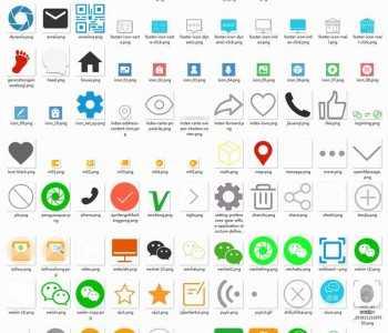 APP小程序icon图标库素材