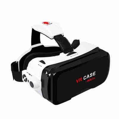 VR眼镜虚拟现实3D一体机头戴式头盔游戏机影院box手机htc6代小米